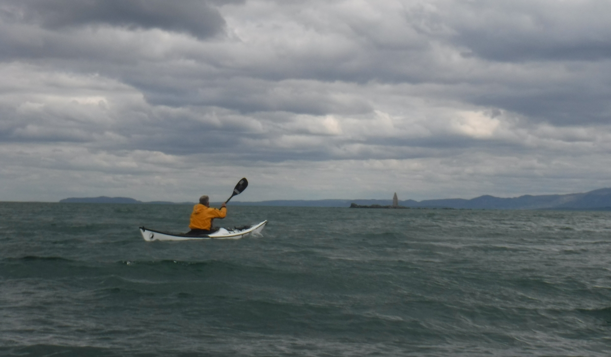 A Paddle to Ynys Dulas with a Girl in a Dress!  By Richard Janes